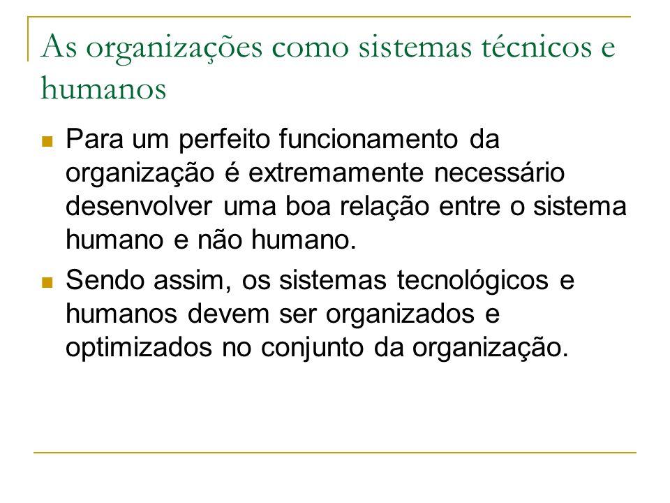 Abordagem sociotécnica Sistema social, constituído pelas pessoas e respectivas interacções. Tanto o sistema tecnológico como o sistema social são mutu