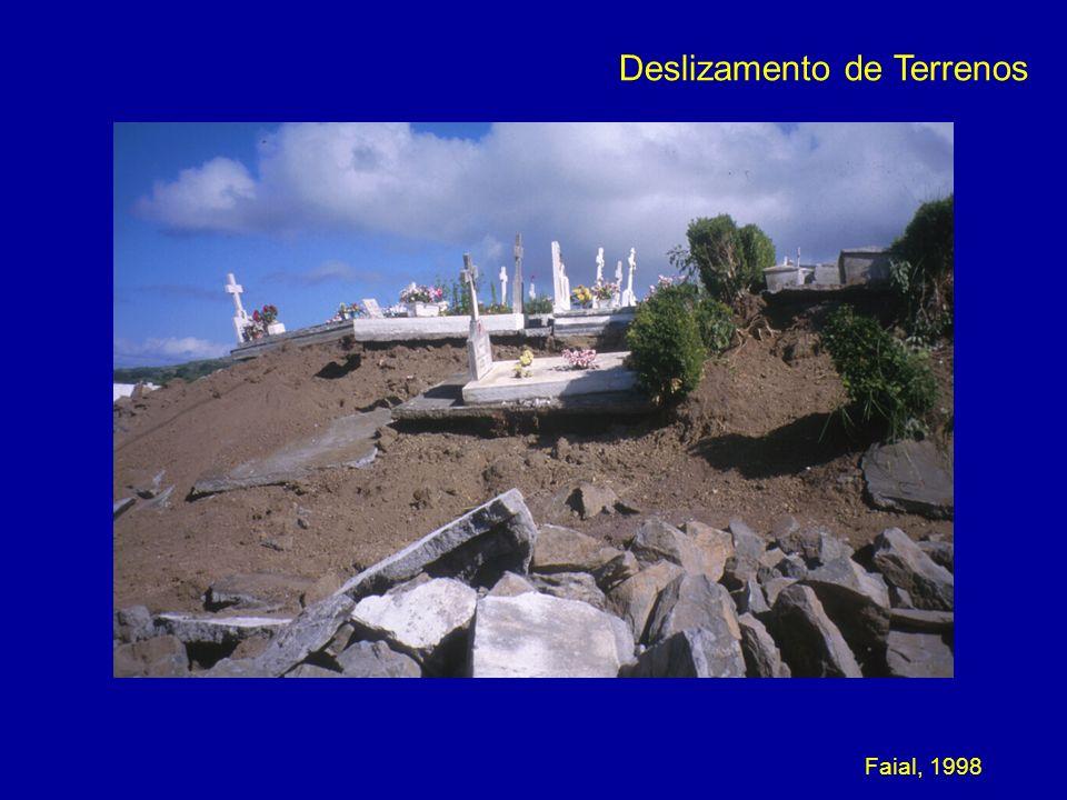 Deslizamento de Terrenos Faial, 1998