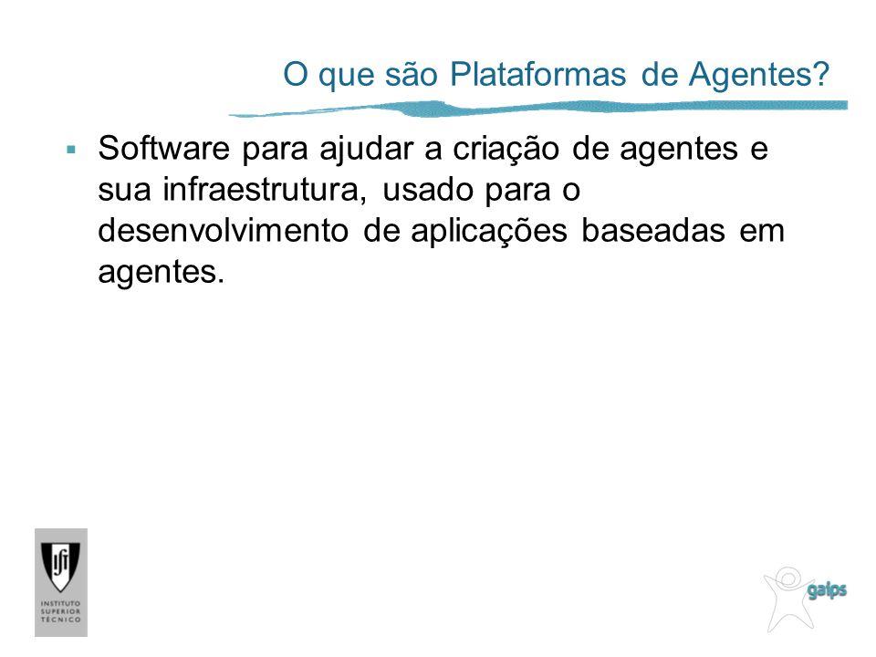 O que são Plataformas de Agentes.