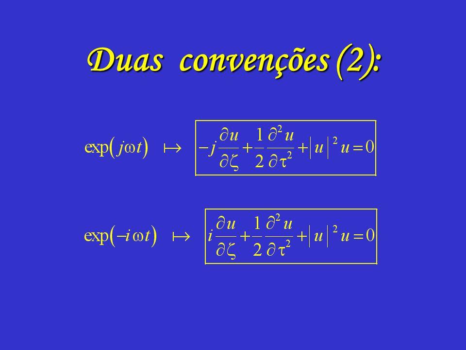 Duas convenções (1):