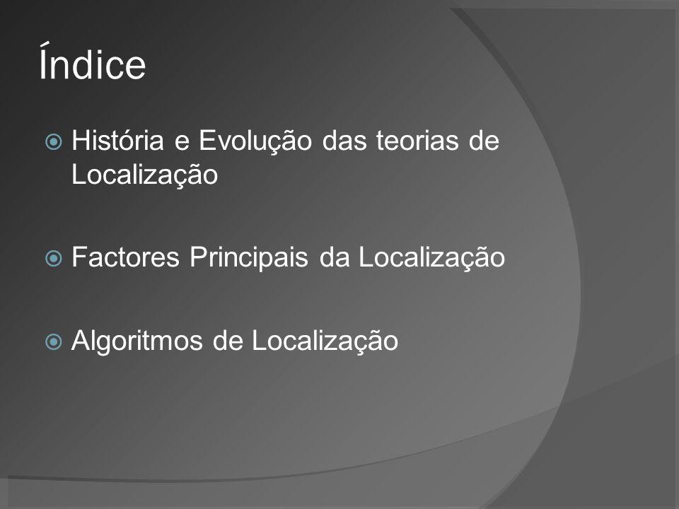 Algoritmo: Centro de Gravidade Localização determinada: In Business Logistics Management