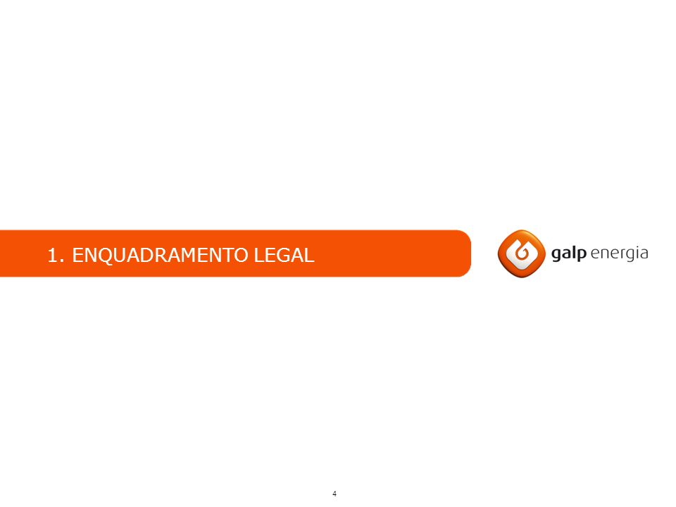 4 1. ENQUADRAMENTO LEGAL