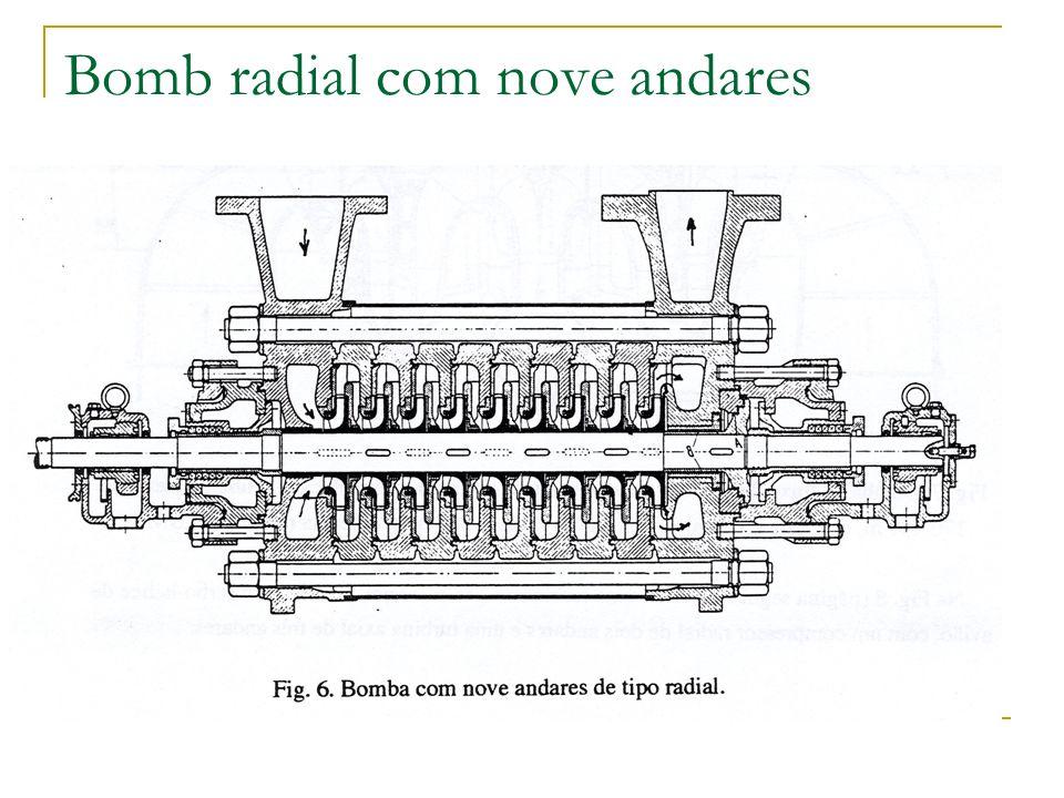Bomb radial com nove andares