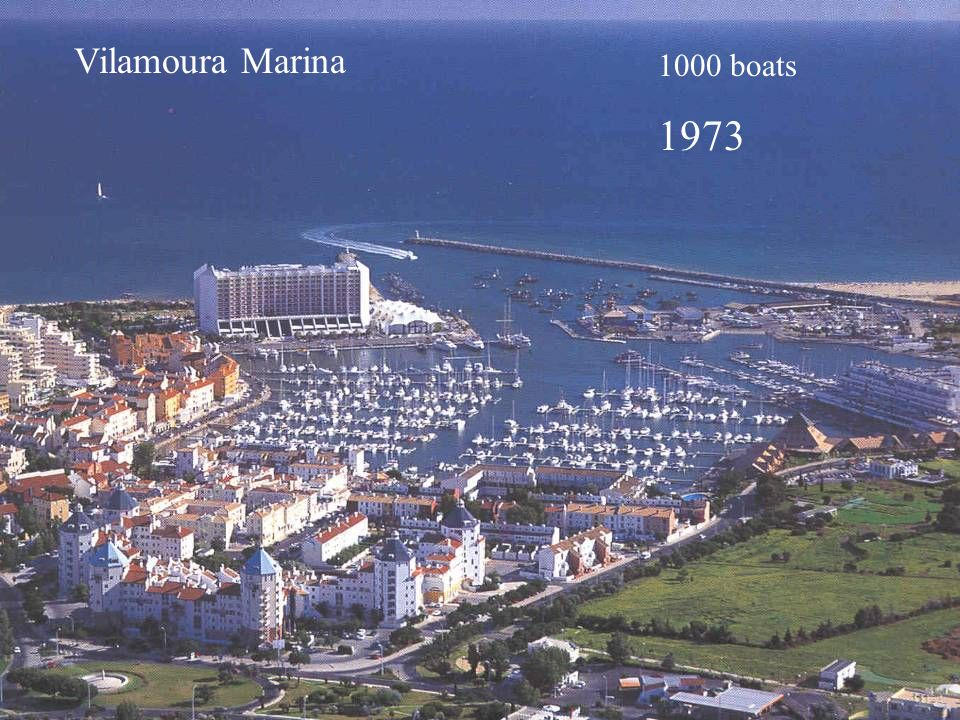 Vilamoura Marina 1000 boats 1973