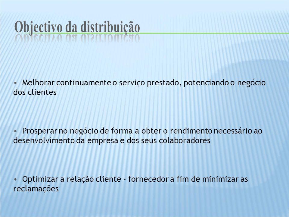 Melhorar continuamente o serviço prestado, potenciando o negócio dos clientes Prosperar no negócio de forma a obter o rendimento necessário ao desenvo