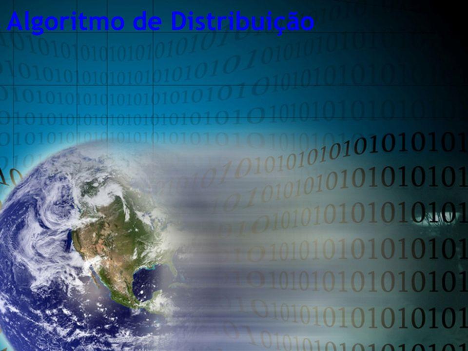 Algoritmo de Distribuição
