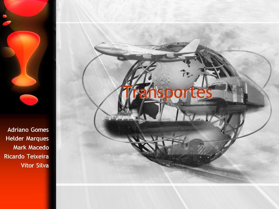 Índice Definição de transporte Origem e evolução dos transportes RodoviárioFerroviárioMarítimoAéreoOleoduto Evolução dos transportes no Porto Classificação dos transportes Quanto à modalidade Quanto à forma Características, vantagens e desvantagens dos transportes