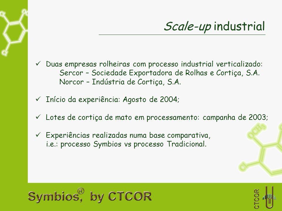 Scale-up industrial Duas empresas rolheiras com processo industrial verticalizado: Sercor – Sociedade Exportadora de Rolhas e Cortiça, S.A. Norcor – I