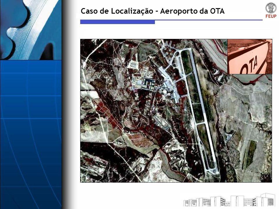 Caso de Localização – Aeroporto da OTA