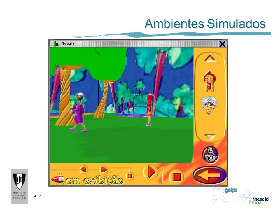 A. Paiva Ambientes Simulados