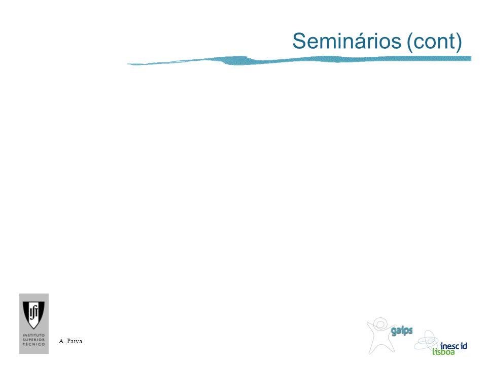 A. Paiva Seminários (cont)
