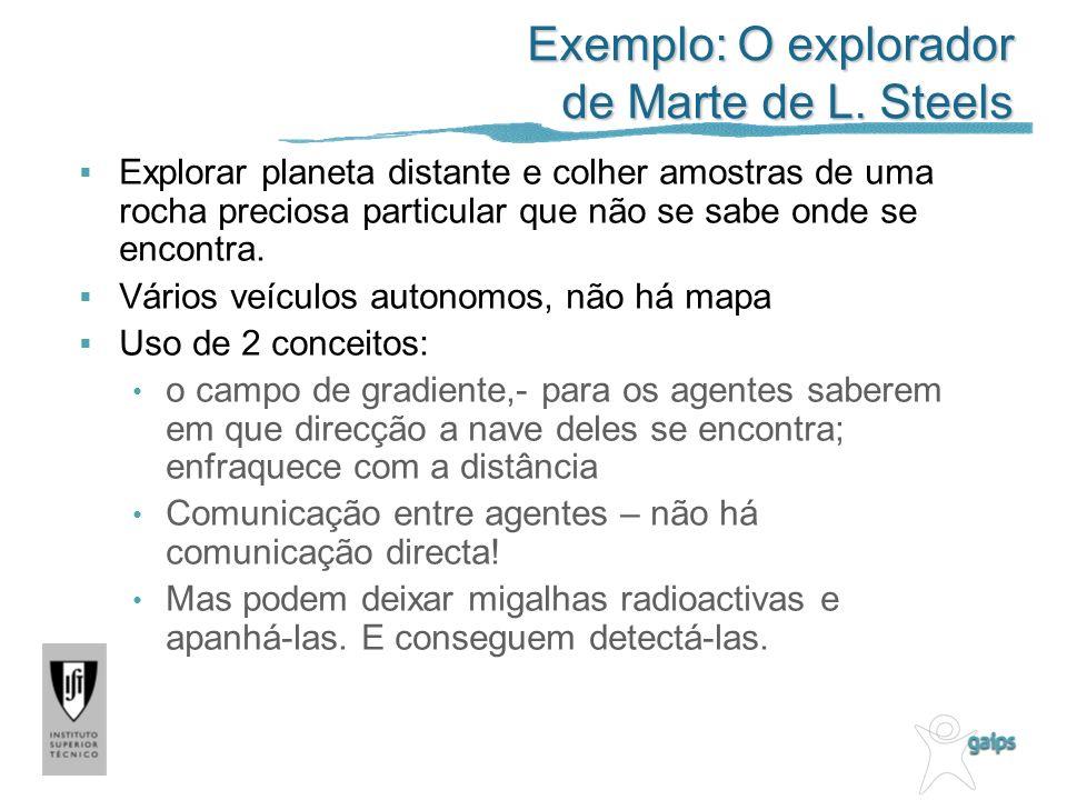 Exemplo: O explorador de Marte de L.