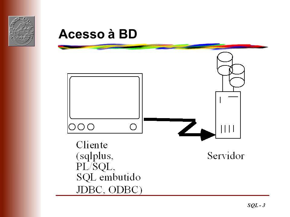 SQL - 3 Acesso à BD