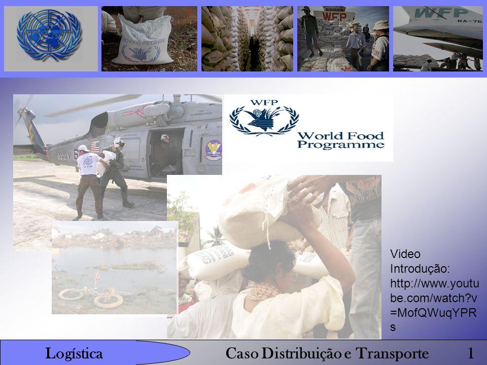 Distribuição: A WFP utiliza a United Nations Humanitarian Response Depot (UNHRD), uma rede de depósitos localizados em locais chave/estratégicos espalhados por todo mundo.