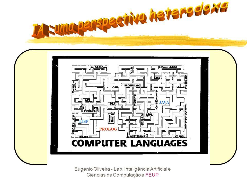 Eugénio Oliveira - Lab. Inteligência Artificial e Ciências da Computação e FEUP Racionalidade das Linguagens Naturais