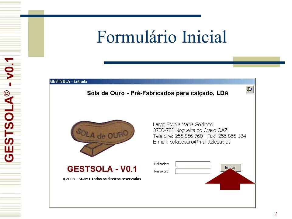 2 Formulário Inicial GESTSOLA © - v0.1
