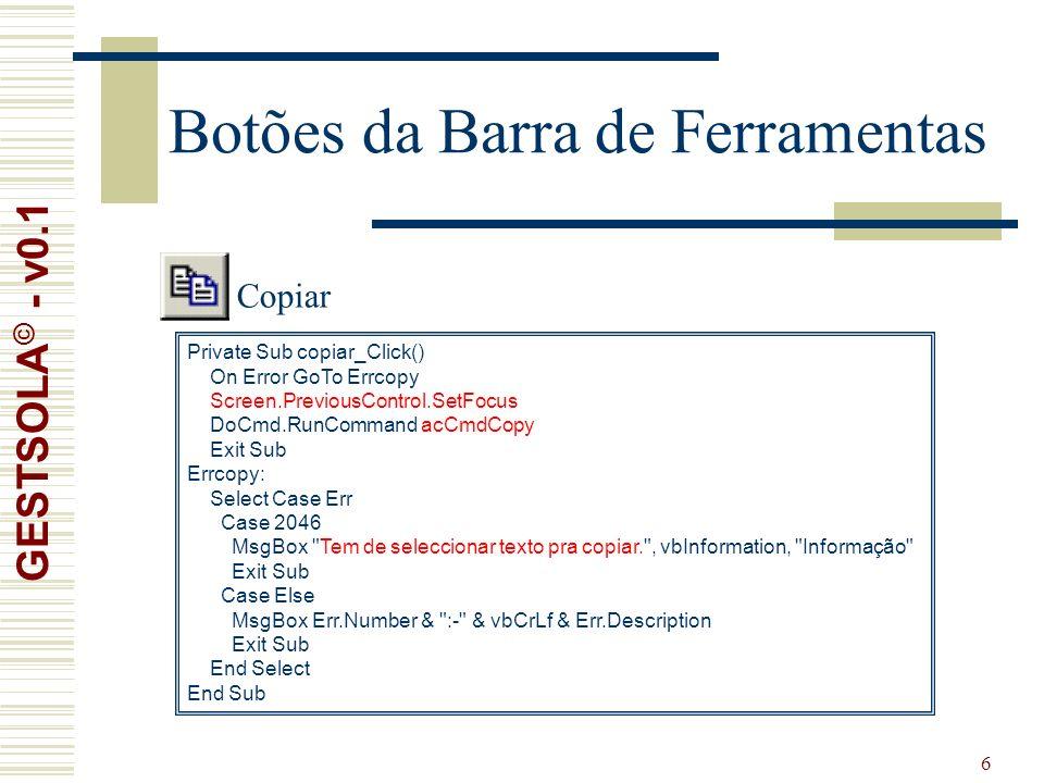 17 Formulário de Clientes GESTSOLA © - v0.1