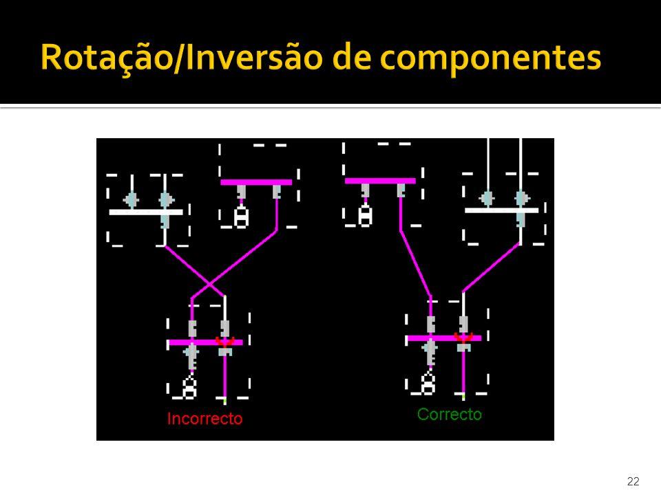 22 Rotação/Inversão de componentes