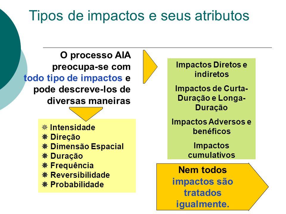 IMPACTOS AMBIENTAIS Impacto positivo ou benéfico Impacto positivo ou benéfico: quando a ação resulta na melhoria da qualidade de um fator ou parâmetro ambiental.