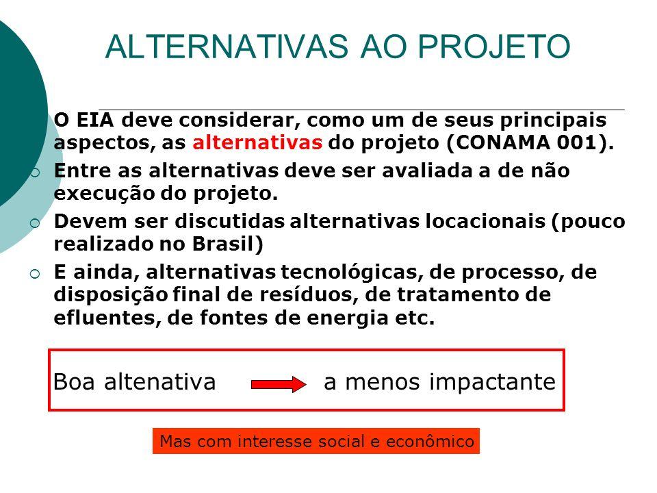 DIRETRIZES PARA A ELABORAÇÃO DO EIA/RIMA INFORMAÇÕES GERAIS ANÁLISE DOS IMPACTOS AMBIENTAIS CARACTERIZAÇÃO DO EMPREENDIMENTO DIAGNÓSTICO AMBIENTAL ÁREA DE INFLUÊNCIA MEDIDAS MITIGADORAS PROGRAMA DE MONITORAMENTO RIMA E I A