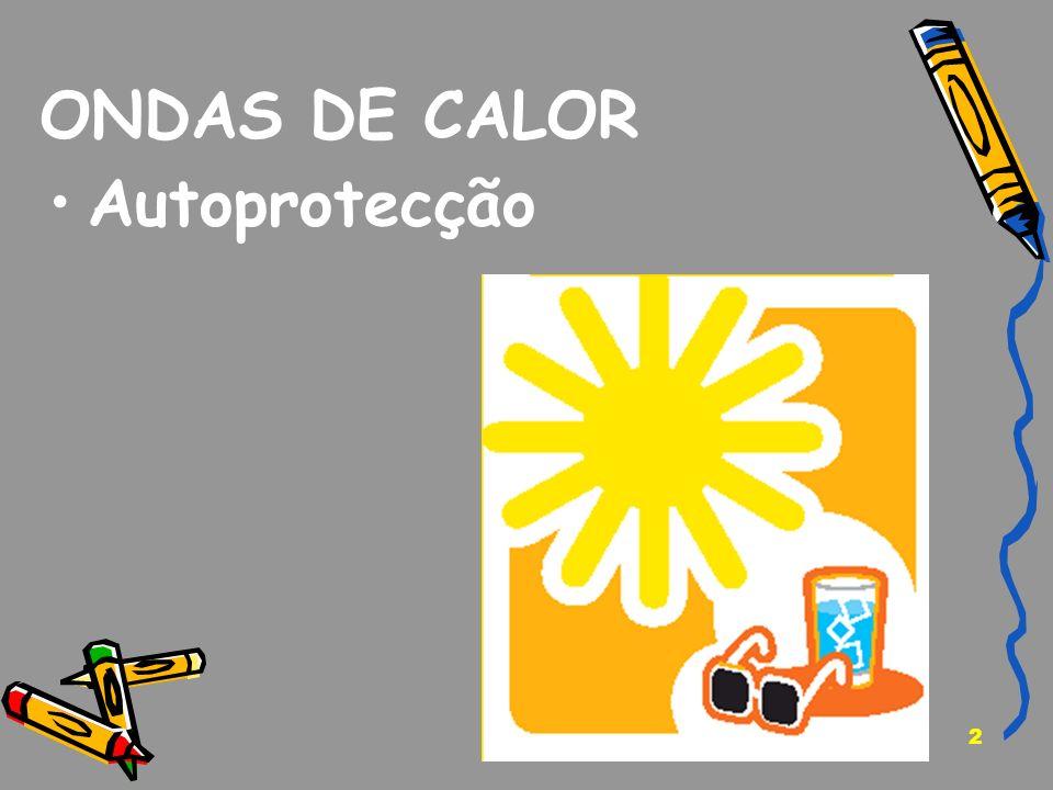 2 ONDAS DE CALOR Autoprotecção