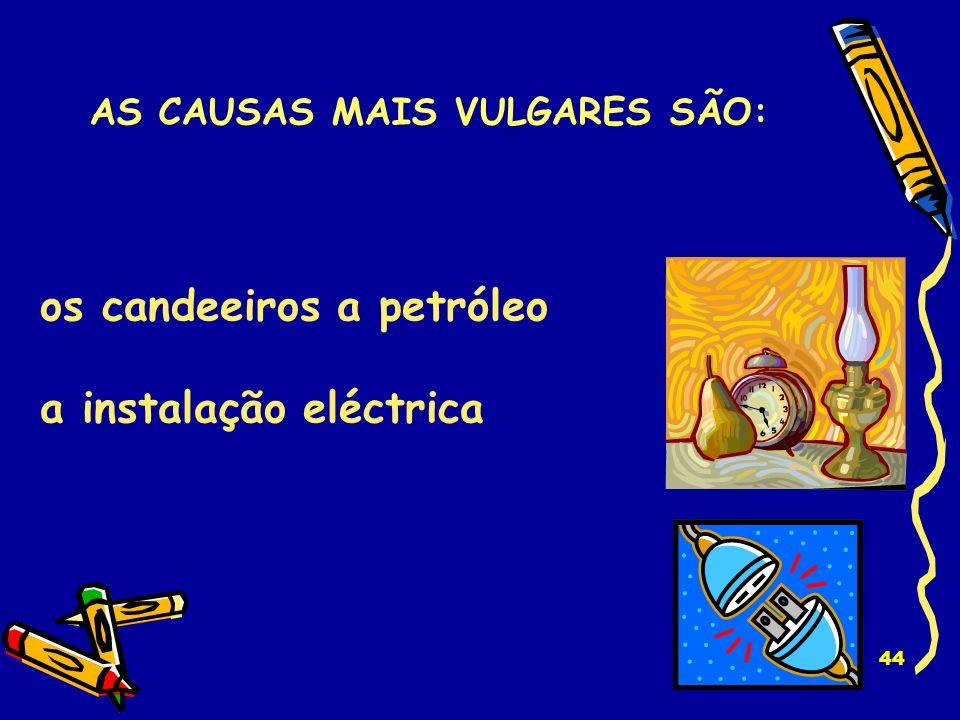 43 o aquecimento as velas AS CAUSAS MAIS VULGARES SÃO: