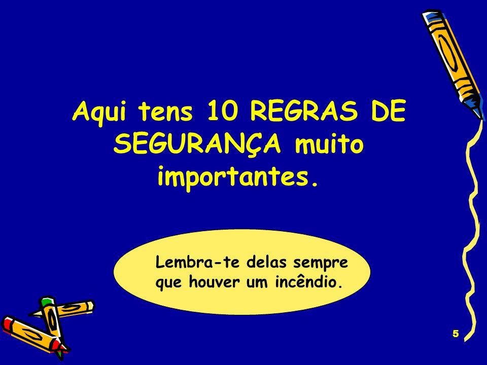15 A REGRA É