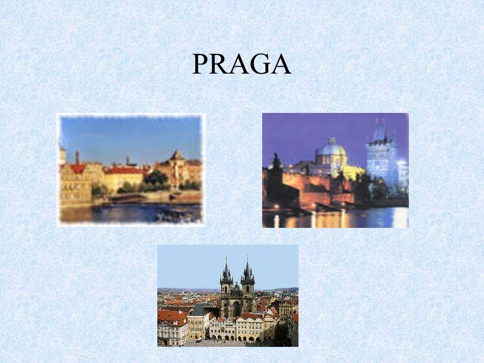 MAPA DO PAÍS E CIDADES A capital da República Checa é Praga, situada no Noroeste do país Tem ainda como cidades importantes Ostrava, Brno, Karlovy Var