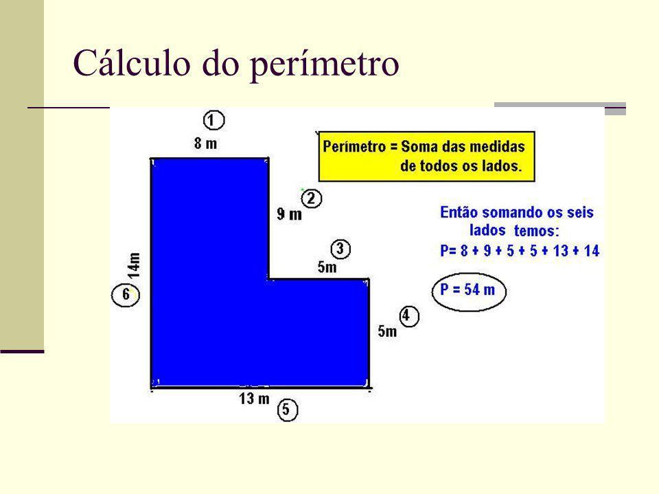 Cálculo do perímetro