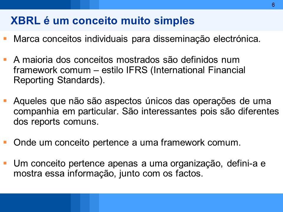 7 Estrutura das normas internacionais IAS/IFRS: As normas internacionais são compostas por um conjunto de 5 tipos de pronunciamentos técnicos (Framework, IAS, IFRS, SIC e IFRIC): Framework: O framework não é oficialmente um pronunciamento técnico mas sim uma Estrutura conceptual, descrição dos conceitos básicos que devem ser respeitados na preparação e apresentação das demonstrações financeiras internacionais.