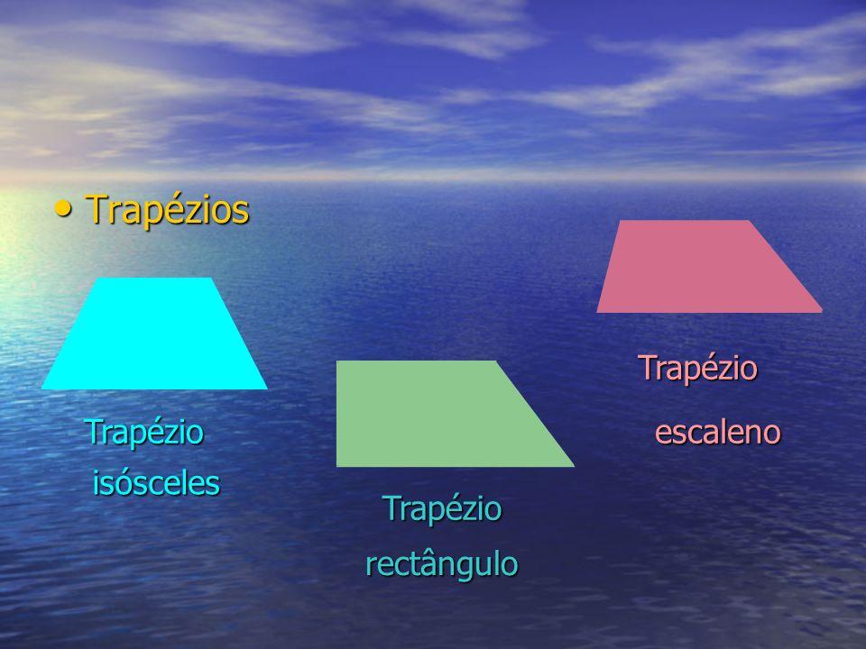 Trapézios Trapézio Trapézio Trapézio isósceles rectângulo escaleno