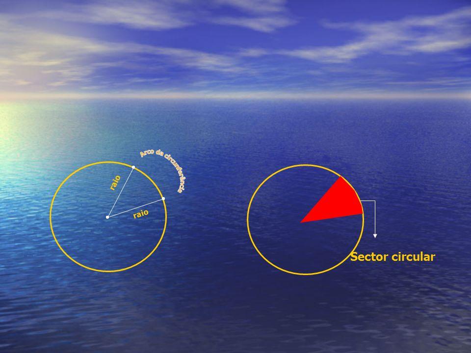 Sector circular r a i o r a i o