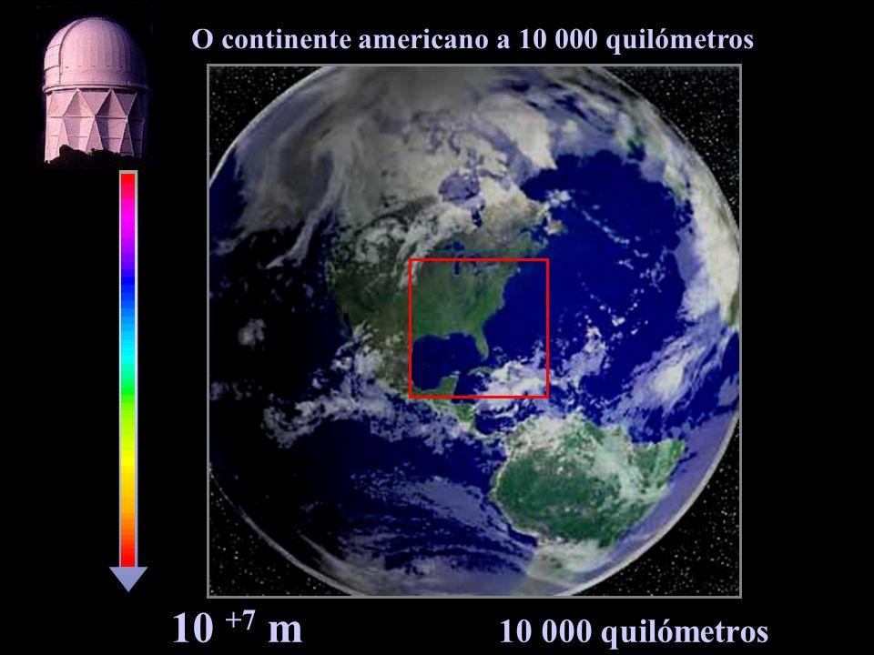Sudeste dos Estados Unidos da América 10 +6 m 1 000 quilómetros