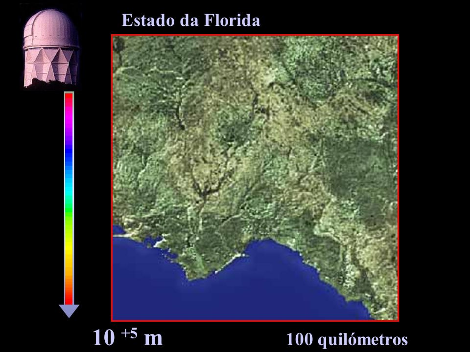 Estado da Florida 10 +5 m 100 quilómetros