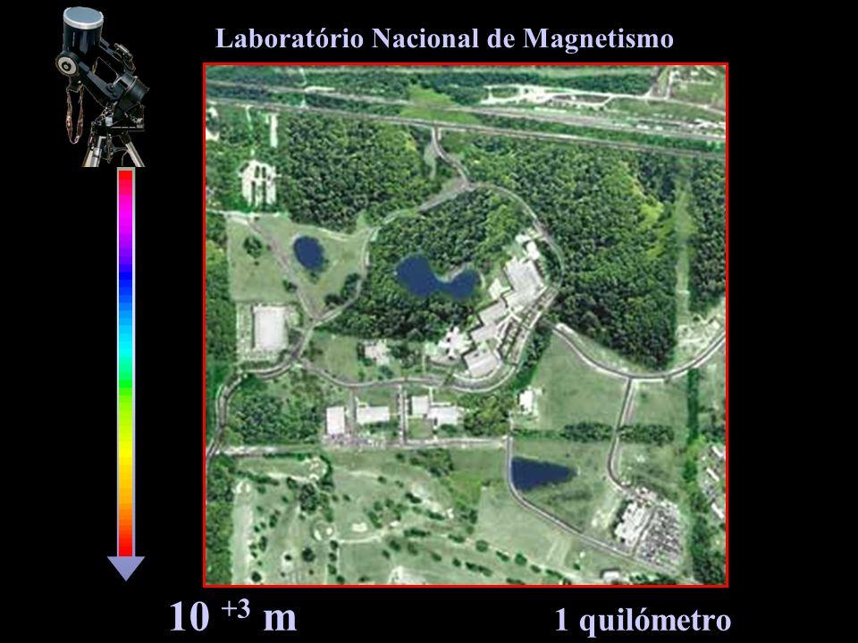 10 +3 m 1 quilómetro Laboratório Nacional de Magnetismo