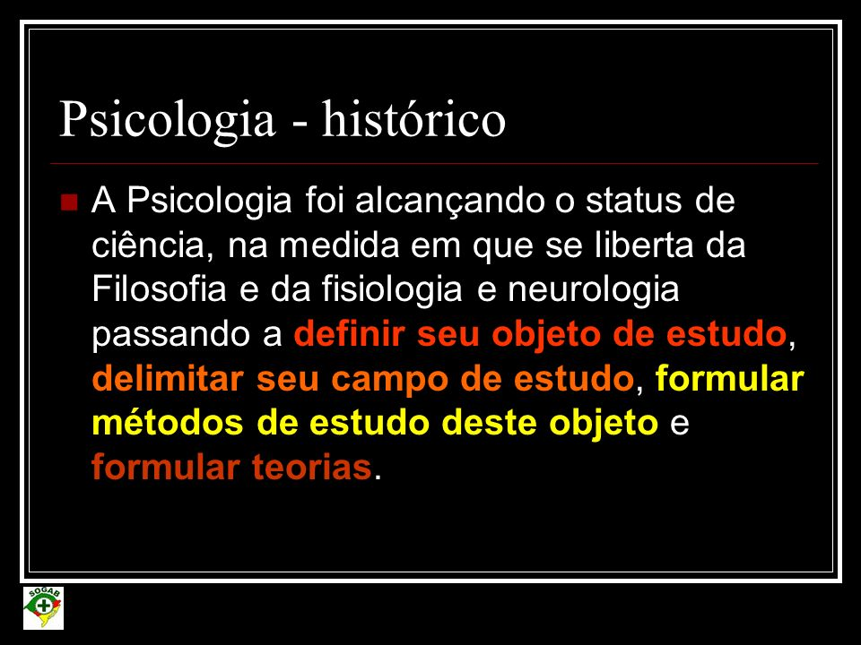Escolas Teóricas da Psicologia Estruturalismo Funcionalismo Associacionismo Behaviorismo Gestalt Psicanálise