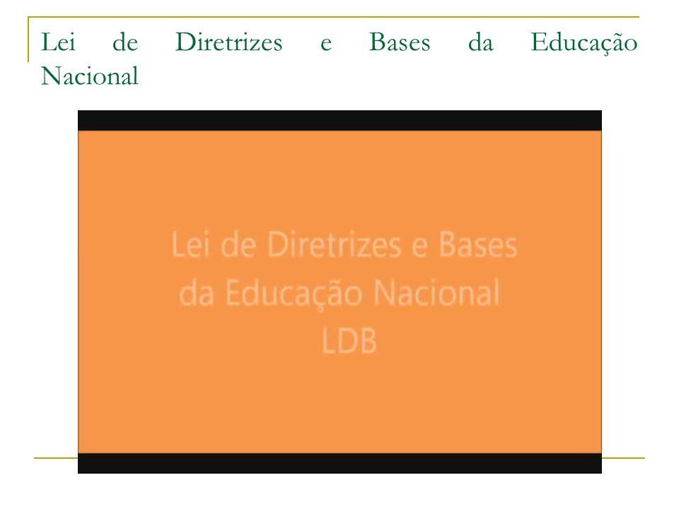 Lei de Diretrizes e Bases da Educação Nacional