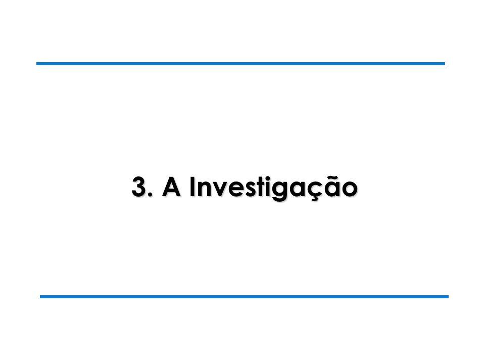 28-10-2003 Luiza Alves da Costa 3. A Investigação