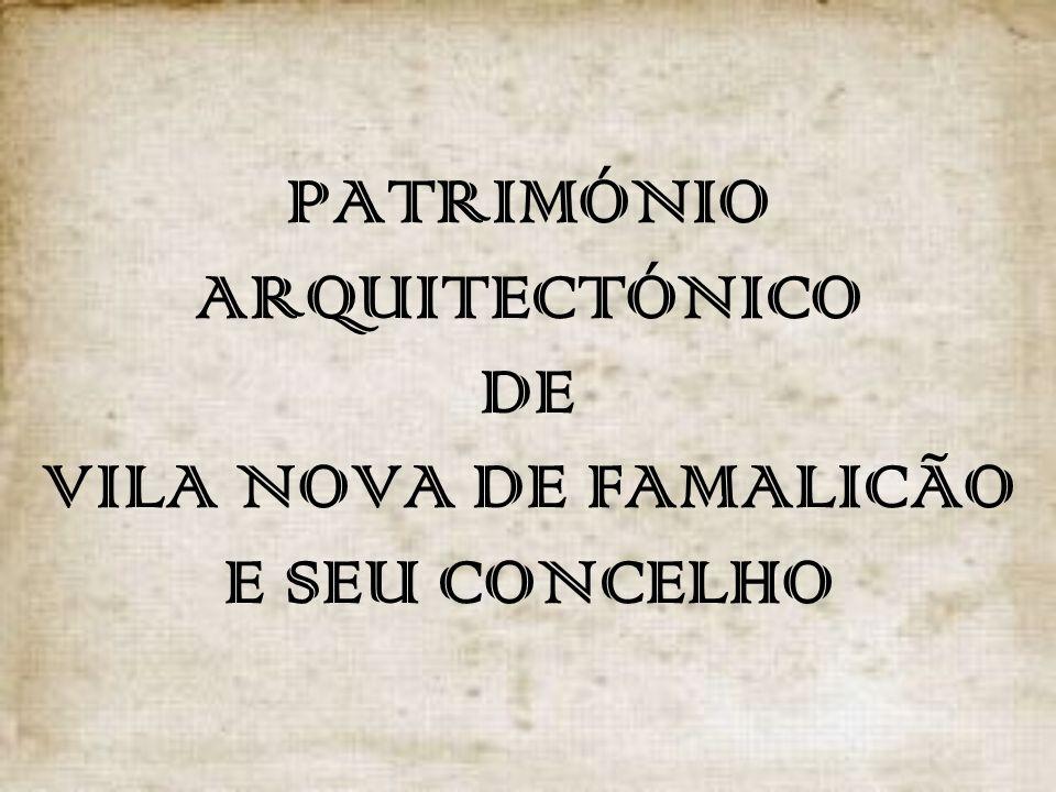 Como património arquitectónico entenda-se: construções com alguma importância na história e vida do nosso concelho, independentemente das funções que estas desempenham e da sua idade.