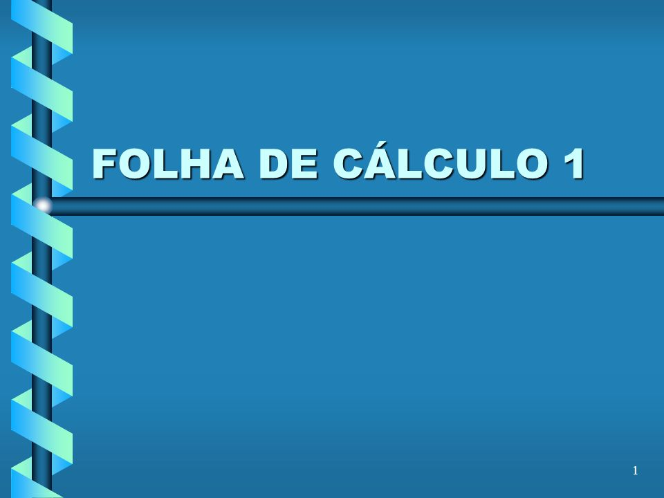 32 Uso de referências Vamos voltar ao exemplo A1: = 10 A2: =((A1 + 45*12)/5+3)^0.5 A3:= Sin(A1 / A2) O que acontece se eu curtar A2 e o mudar para B2?