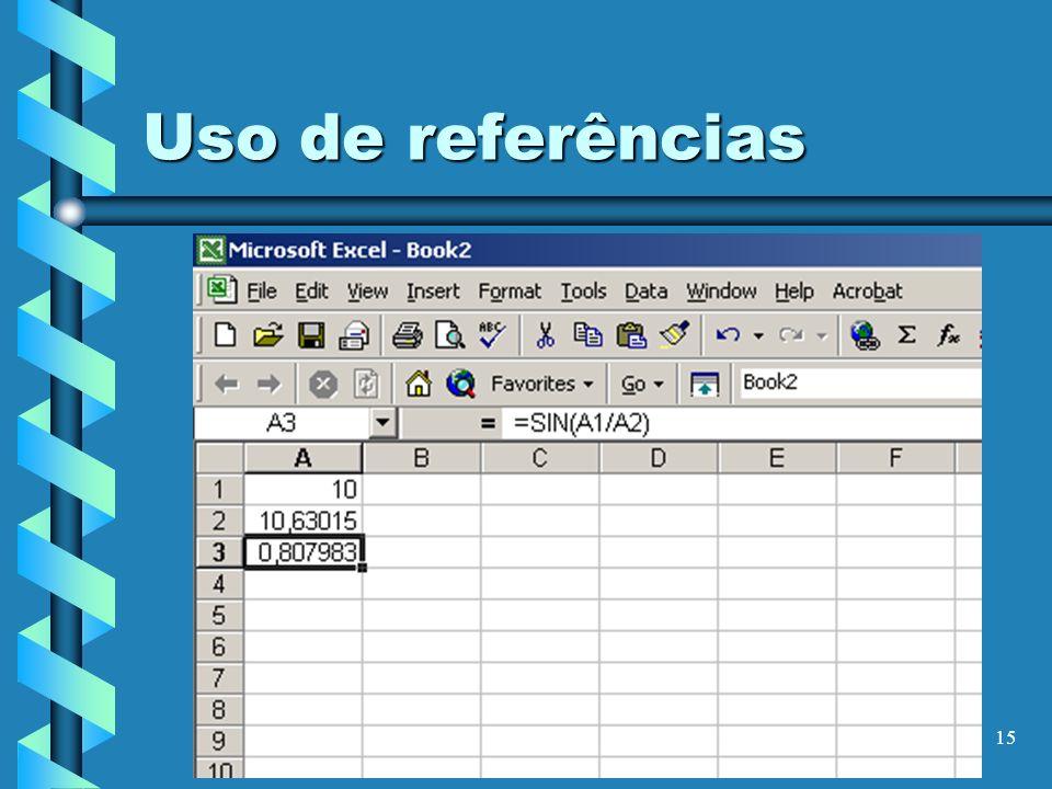 15 Uso de referências