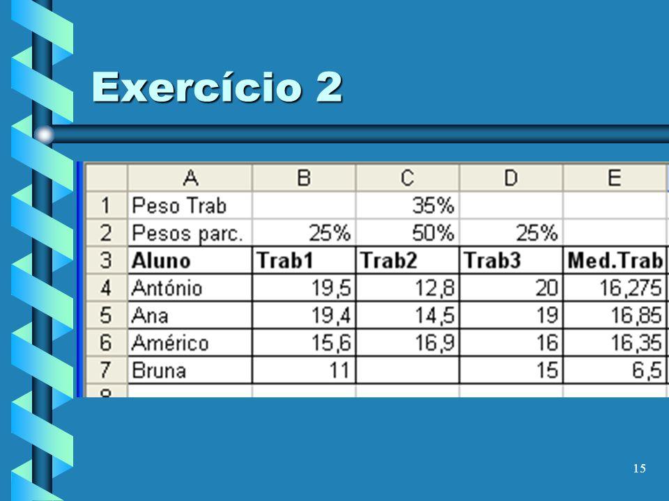 15 Exercício 2
