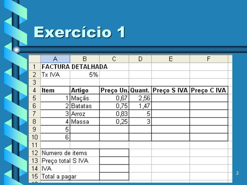 2 Exercício 1