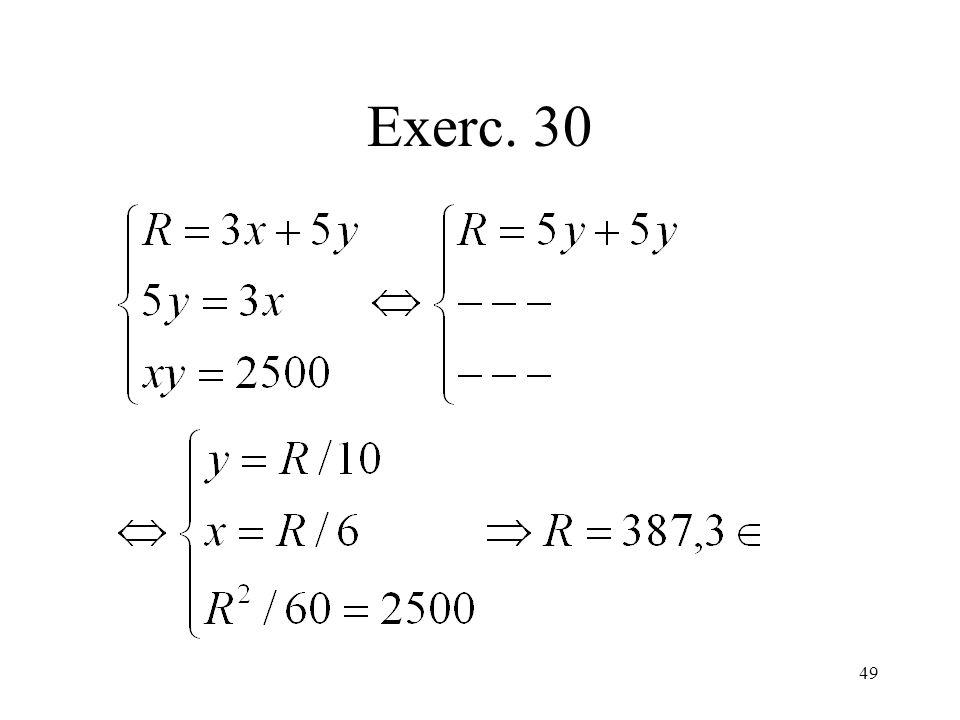 49 Exerc. 30
