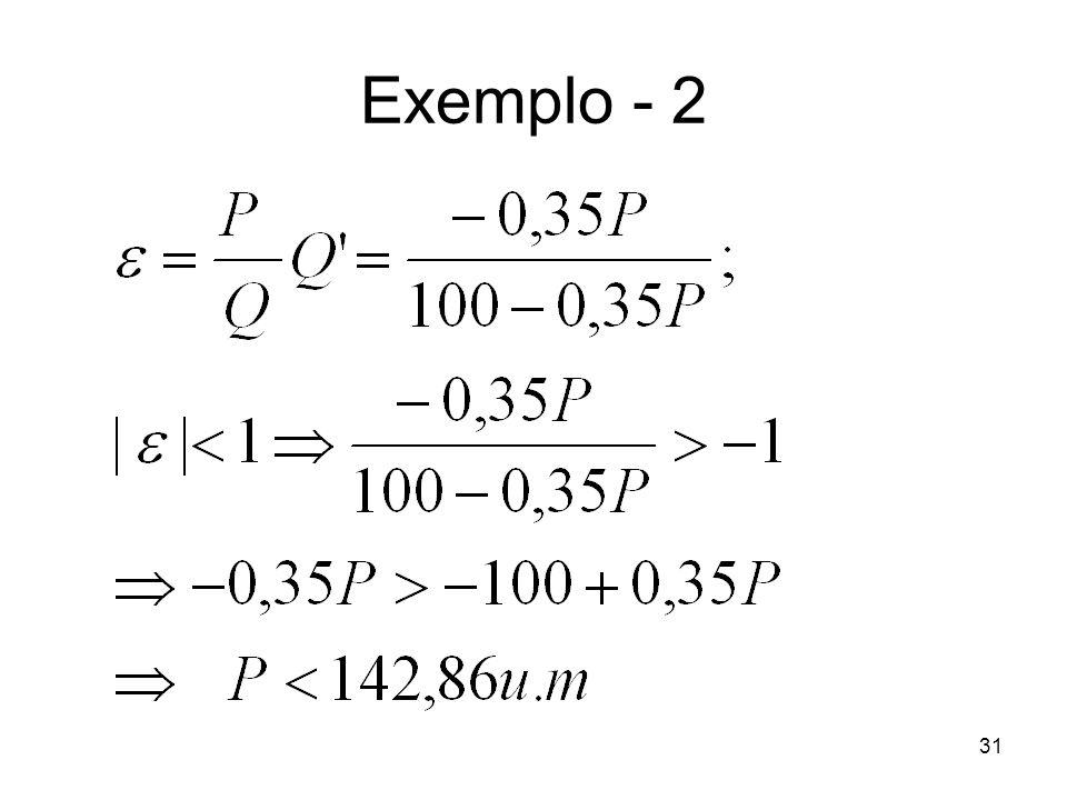 31 Exemplo - 2