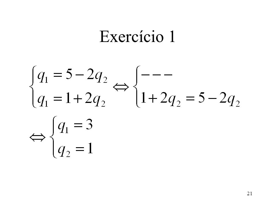 21 Exercício 1