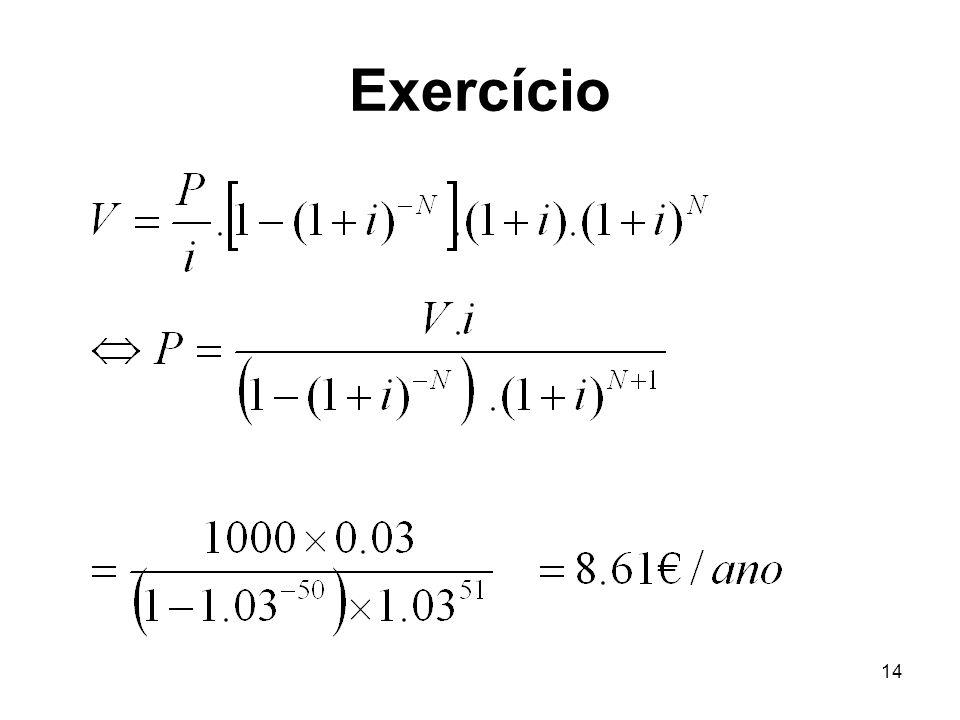 14 Exercício