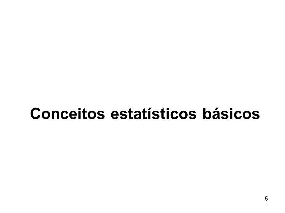 5 Conceitos estatísticos básicos