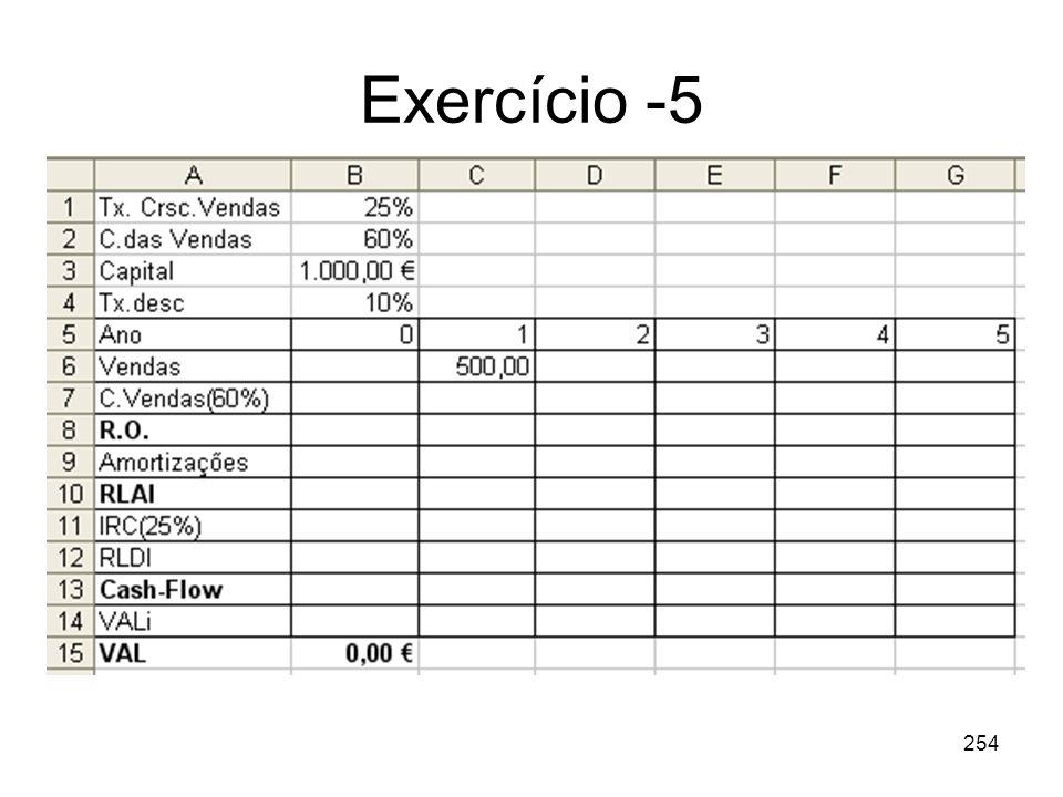 254 Exercício -5