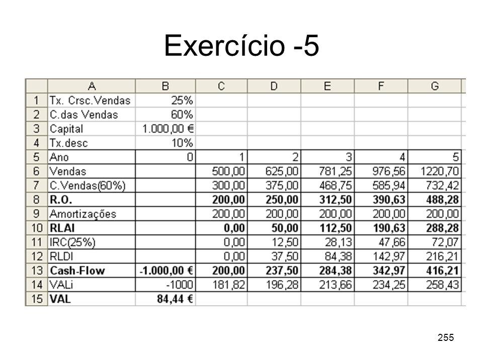 255 Exercício -5